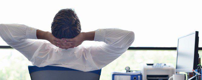 En el trabajo debemos descansar unos minutos cada una o dos horas