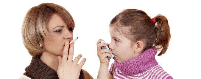 Los hijos de fumadores tienen mayor propensión al asma