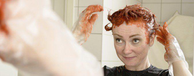 Los tintes para el pelo nos pueden provocar picor
