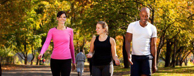 Podemos salir a caminar solos o acompañados, e iremos incrementando la distancia poco a poco