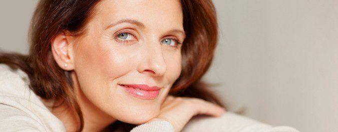 Podemos utilizar cremas para contrarrestar algunos efectos de la menopausia en la piel