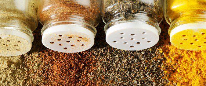 Las especias son unas grandes aliadas del sabor sin necesitar una pizca de sal