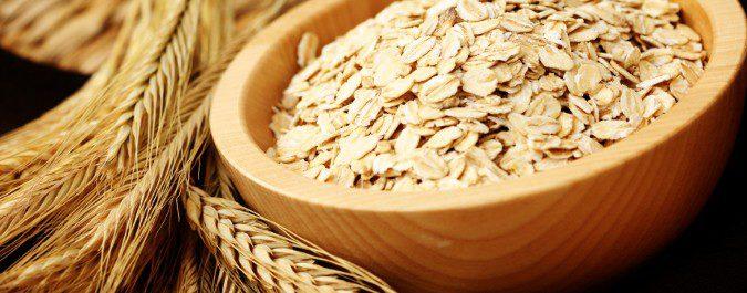 Podemos encontrar la vitamina E en cereales como la avena