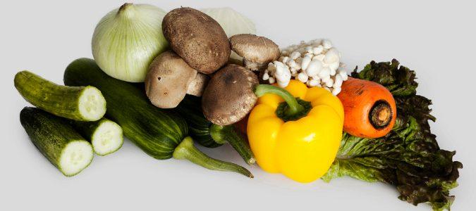 Deberemos tomar más cantidad de verduras y hortalizas para recibir el aporte de fibra necesario.
