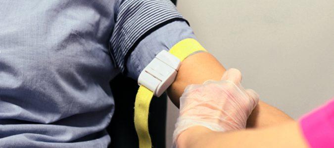 sacando sangre