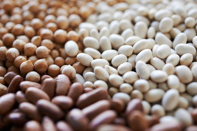 La dieta paleo restringe el consumo de legumbres,por considerarlas inflamatorias
