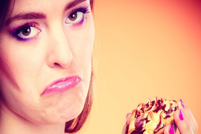 Para los adictos al azúcar, la falta de ella puede provocar tristeza y mal humor