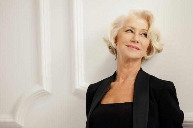 Desde que anunció su enfermedad, la actriz Helen Mirren da su apoyo a organizaciones que investigan y luchan contra ella
