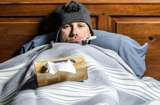 La fiebre se origina a causa de una infección