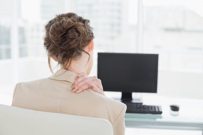 El dolor en el cuello viene causado por un sentimiento culpa