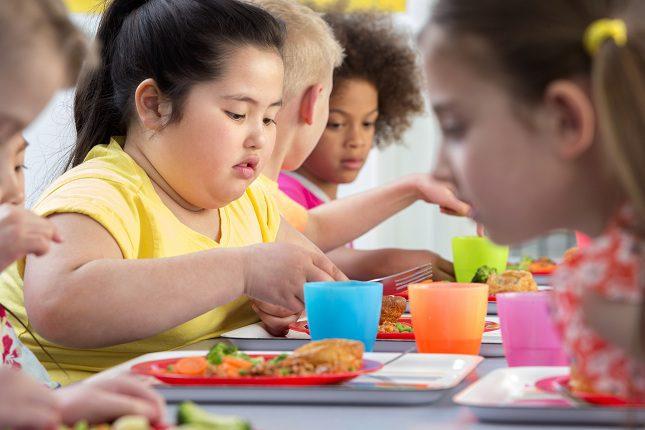 La obesidad en los niños es una preocupación nacional
