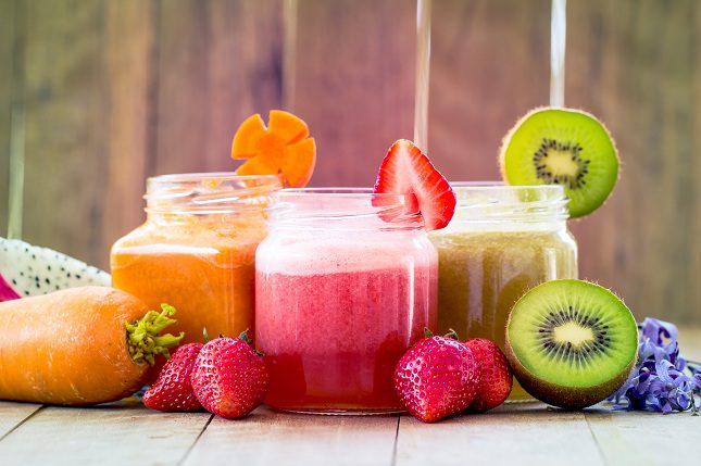Si tomas batidos de frutas habitualmente podrás estimular tu sistema inmunológico