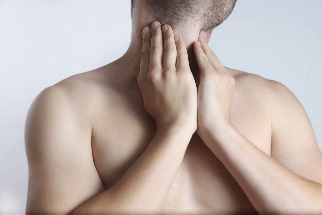 Lo primero que se realizará es una palpación del cuello
