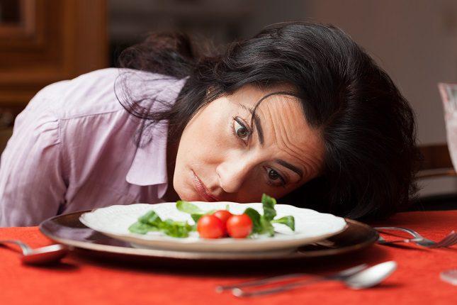 La dieta en la vida real no siempre es tan fácil para bajar calorías