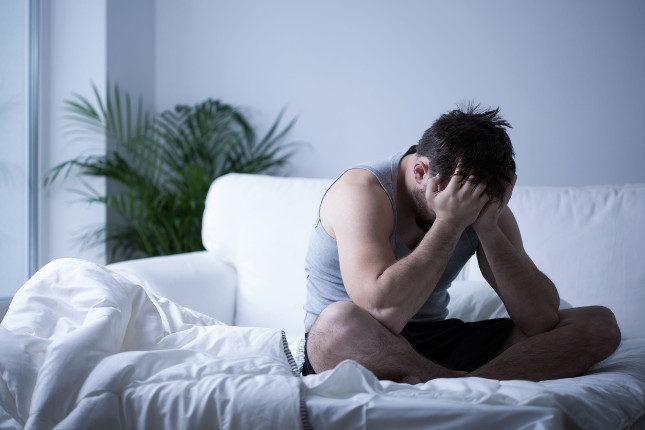 El insomnio es uno de los síntomas de la ansiedad