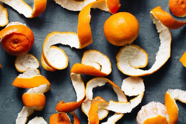 La infusión de cáscara de mandarina es un rico remedio contra los triglicéridos