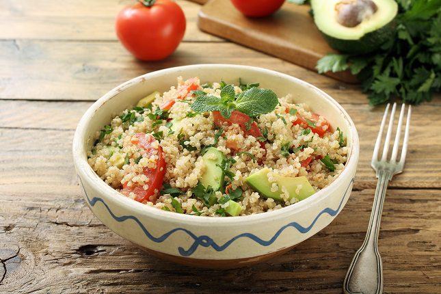 Para las personas sanas, no tiene que haber ninguna razón por la que comer una dieta vegetariana
