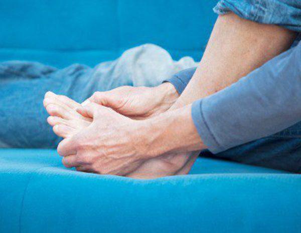 Las venas actúan en los pies como arreglar