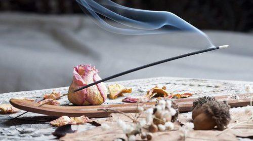 El humo del incienso es malo para la salud