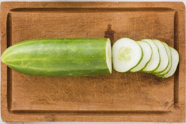 El valor nutricional del pepino destaca por su escaso aporte calórico