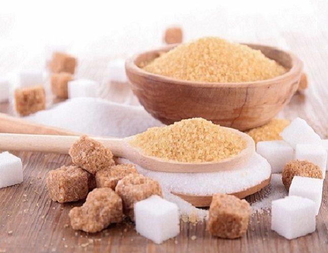 No hay apenas diferencia en la producción del azúcar blanco y del azúcar moreno