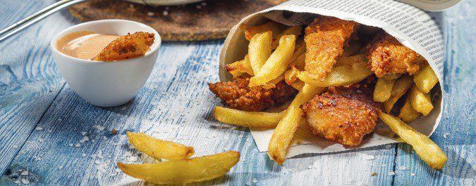 Las frituras, los precocinados y la comida rápida están totalmente prohibidos