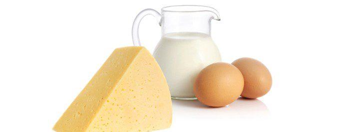 La presencia de huevos o leche en la dieta marca el grado de vegeterianismo