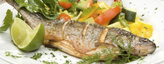 Pescados como la trucha aumentan la concentración de ácido úrico