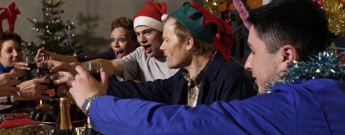 Hay que tener especial cuidado con el alcohol, tan propio de las comidas navideñas