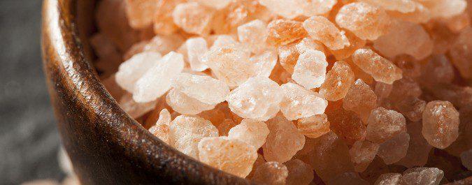 La sal rosa del Himalaya potencia el sabor de los alimentos dulces