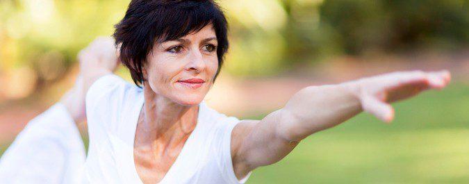 El ejercicio nos ayudará a reducir muchos de los efectos de la menopausia en nuestro cuerpo