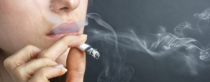 El humo del tabaco produce una gran irritación nasal