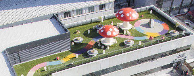 Entre los proyectos de Juegaterapia se encuentra la construcción de jardines para los niños