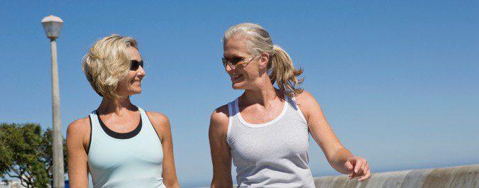 El ejercicio moderado ayudará a disminuir la atrofia vaginal