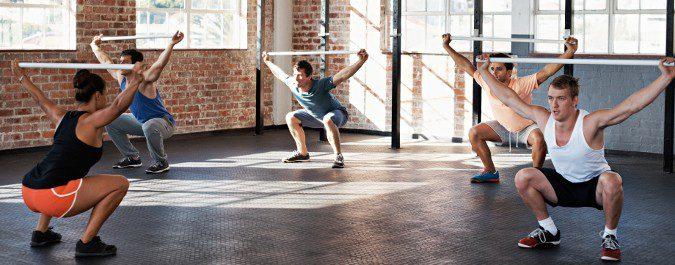 El CrossFit nos permite ejercitar diferentes partes del cuerpo, alejándose de la exclusividad
