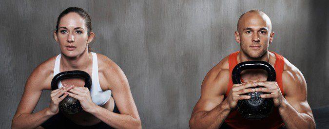 El entrenamiento de CrossFit se adapta a cada persona y sus objetivos
