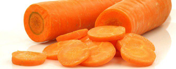 La zanahoria contiene vitamina A
