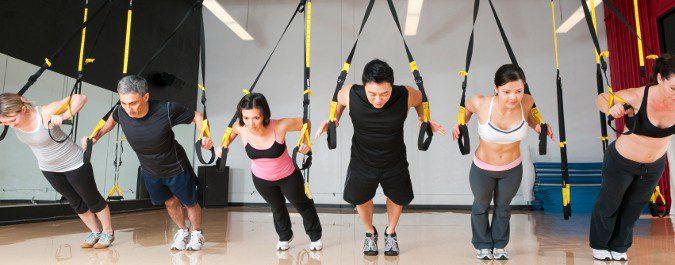 El entrenamiento en suspensión o TRX puede ser practicado por cualquier persona
