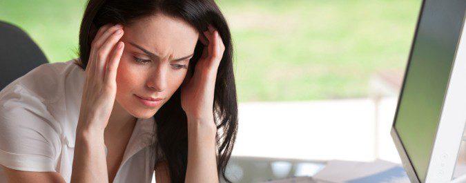 El estrés dificulta la concentración y la organización
