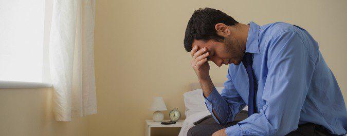 El cansancio físico continuado nos puede llevar a estados emocionales negativos