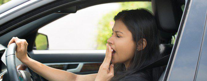 El Polaramine causa somnolencia, por lo que debemos de tener cuidado al volante