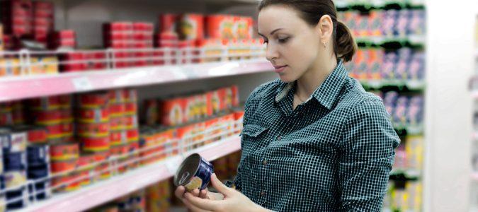 Es importante fijarse en el etiquetado de los productos que vamos a comprar