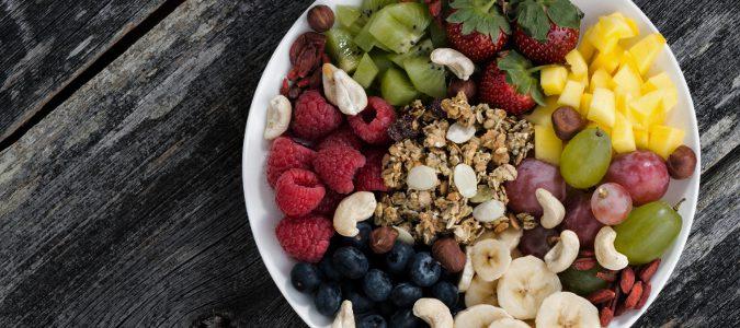 En medida de lo posible, es importante tomar las frutas con piel