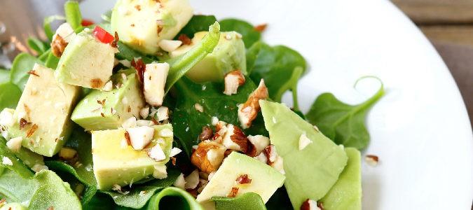 Espinacas en ensalada