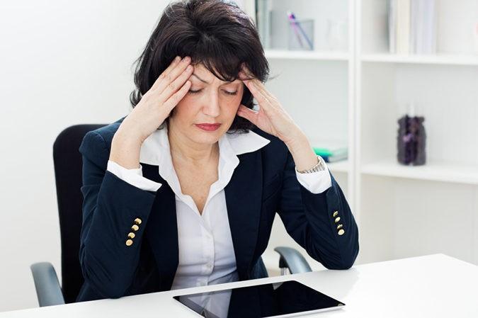 Mujer menopáusica