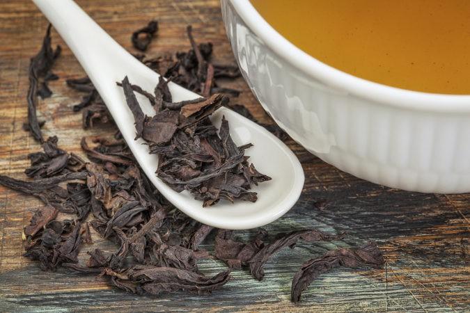 El Oolonng, Wu Long o té azul tiene un sabor más dulce que el resto