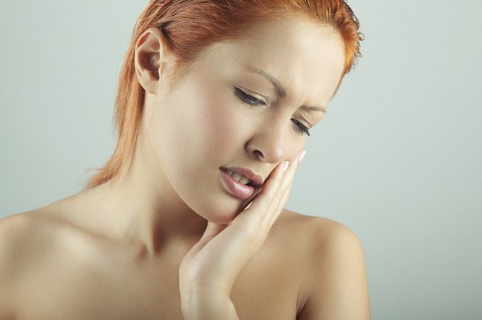 Un flemón duele y es muy molesto para la persona que lo padece