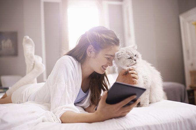 Tener gatos te ayuda a estar mejor física y mentalmente