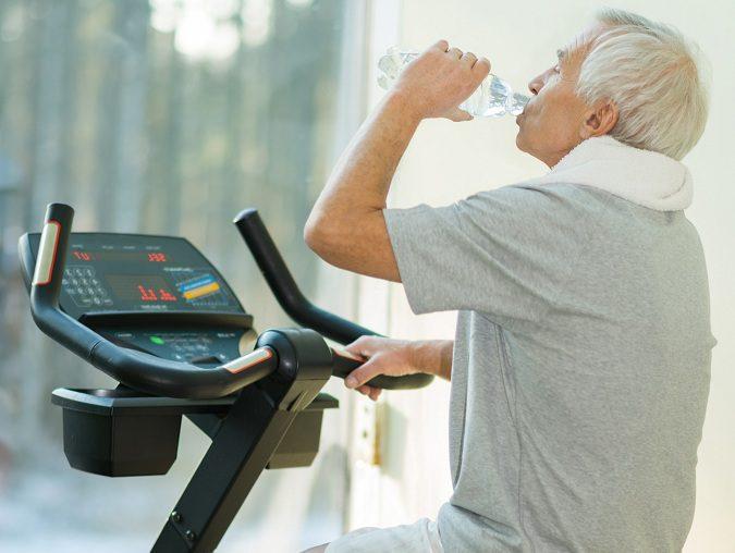 El deporte hace que el anciano mejore desde el punto de vista psicológico