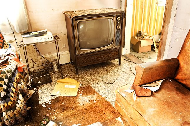 El sindrome de Diógenes consiste en acumular en casa objetos innecesarios y sin valor alguno